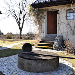 Jardines de estilo rural de Grzegorz Popiołek Projektowanie Wnętrz Rural