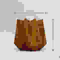 Kronen Tall in Corten Steel effect Adam Christopher Design Garden Plant pots & vases