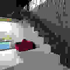 Pasillos, vestíbulos y escaleras minimalistas de ar-quo Minimalista