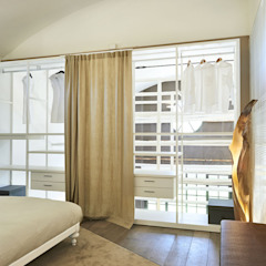 Eclectic style bedroom by Studio ARTIFEX Eclectic