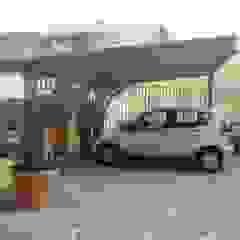 Copertura per auto Garage/Rimessa in stile mediterraneo di RicreArt - Italmaxitetto Mediterraneo