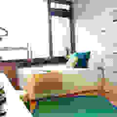 City oasis Eclectische slaapkamers van Levenssfeer Eclectisch Bamboe Groen