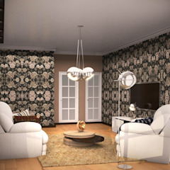Colonial style dressing rooms by PLANiUM Colonial