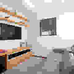 Apartamento AL Salas multimídia modernas por Haruf Arquitetura + Design Moderno
