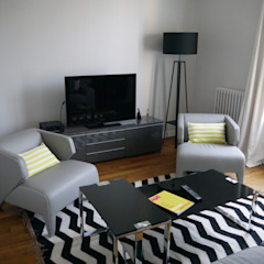 Modern Living Room by Agence Laurent Cayron Modern