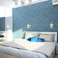 Classic style bedroom by Студия 'Облако-Дизайн' Classic