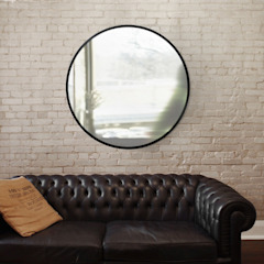 Зеркало Hub черное от Enjoyme Лофт