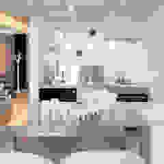 Salones de estilo escandinavo de justyna smolec architektura & design Escandinavo