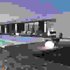 Maison P Maisons modernes par ARRIVETZ & BELLE Moderne