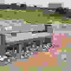 Eco Bench Competition - Biodiversity Park, Aravali Range Gurgaon Tropical style garden by Horizon Design Studio Pvt Ltd Tropical