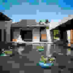 por Stone Contractors Asiático
