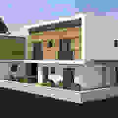 Casas estilo moderno: ideas, arquitectura e imágenes de MİNERVA MİMARLIK Moderno