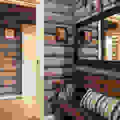 Country style corridor, hallway& stairs by Tatiana Ivanova Design Country