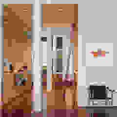 Meltzer Ames Loft Modern corridor, hallway & stairs by Specht Architects Modern