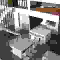 A ESCALA mae arquitectura Comedores de estilo moderno