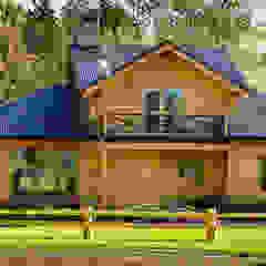 de Patagonia Log Homes - Arquitectos - Neuquén Rural Madera Acabado en madera