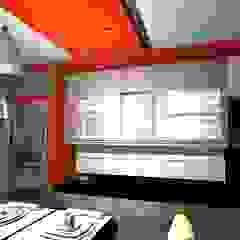 Cozinhas minimalistas por pb Arquitecto Minimalista de madeira e plástico