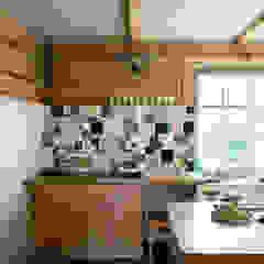 Metamorfoza domu w Bieszczadach Wiejska kuchnia od deco chata Wiejski