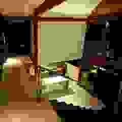 Casa em Boipeba Corredores, halls e escadas campestres por MM8 Arquitetura e Interiores Campestre