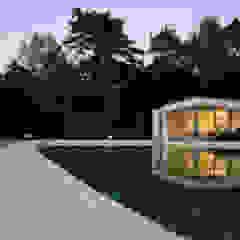 Design bungalow in Bilthoven Minimalistische zwembaden van Lab32 architecten Minimalistisch