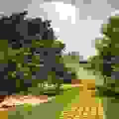 Jardín de Acceso Jardines de estilo moderno de sanzpont [arquitectura] Moderno