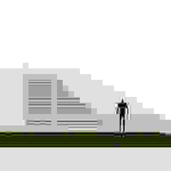 Fachada Principal de sanzpont [arquitectura] Moderno