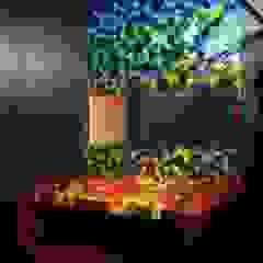 Voronoi del lavabo, año principal Baños de estilo moderno de sanzpont [arquitectura] Moderno