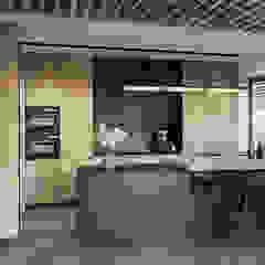 Modern kitchen by razoo-architekci Modern