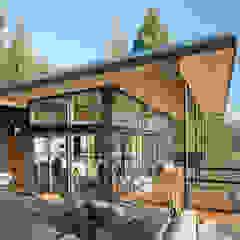 Camp Hammer Modern houses by Uptic Studios Modern