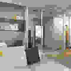 Scandinavian style living room by Оксана Мухина Scandinavian