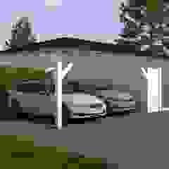 Wiaty garażowe od Ogrodolandia Nowoczesny