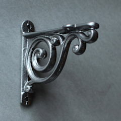 Cast Iron Shelf Brackets by Yester Home