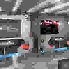 """Картинг-клуб """"Arena GP"""" Автосалоны в стиле лофт от Дизайн-студия HOLZLAB Лофт"""
