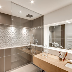 1+1=1 Salle de bain moderne par bypierrepetit Moderne