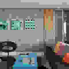 Cobertura - Pinheiros Salas multimídia modernas por MANDRIL ARQUITETURA E INTERIORES Moderno