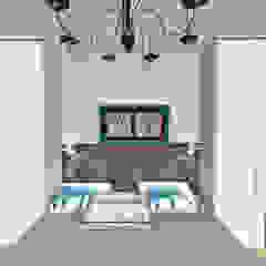 Интерьер спальни от Мастерская дизайна ЭГО Рустикальный