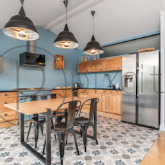 Cocinas de estilo moderno de Pixcity Moderno
