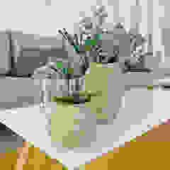 Salas de estilo ecléctico de Adventive Ecléctico Fibra natural Beige