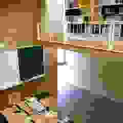 Interior KAWA Design Group Oficinas y bibliotecas de estilo moderno