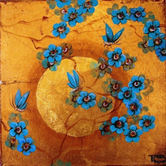 Artwork Inspiration for our Handpainted panels par Eades Bespoke Asiatique