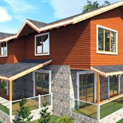 Casas de estilo moderno de PORTAKAL MİMARLIK MÜHENDİSLİK İNŞAAT RÖLÖVE VE RESTORASYON Moderno