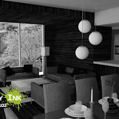 Estancia apartamento de City Ink Design Moderno