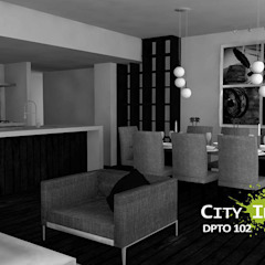 Comedor de City Ink Design Moderno