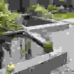Jardines de estilo minimalista de qbus architektur & innenarchitektur Minimalista