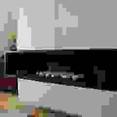 Architectural decorative fireplace Salon moderne par Space Alchemy Ltd Moderne
