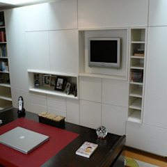 Study Bureau moderne par Space Alchemy Ltd Moderne