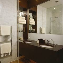 Contemporary Bathroom Salle de bain coloniale par Space Alchemy Ltd Colonial