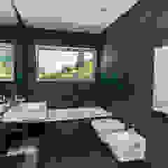 Salle de bain moderne par shfa Moderne Pierre