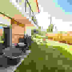 Maisons modernes par shfa Moderne Bois massif Multicolore
