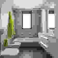 Mediterranean style bathrooms by LLIBERÓS SALVADOR Arquitectos Mediterranean